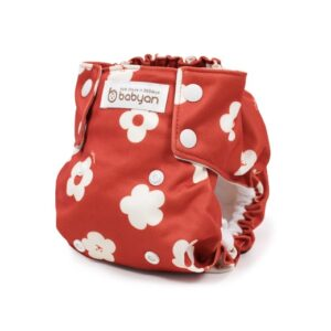 All-In-One (AIO) Diaper – FLOWER