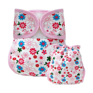 Diaper cover for Newborn baby Flower