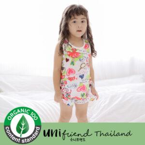 ชุดนอนเด็ก เสื้อผ้าเด็ก 20ss/Ballerina sleeveless