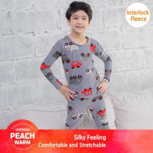ชุดนอนเด็ก เสื้อผ้าเด็ก 20fw/Peachwarm-car