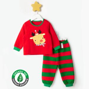 ชุดนอนเด็ก เสื้อผ้าเด็ก 20fw/Hello Rudolph9(red)