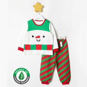 ชุดนอนเด็ก เสื้อผ้าเด็ก 20fw/Snowman9