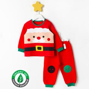 ชุดนอนเด็ก เสื้อผ้าเด็ก 20fw/santa9
