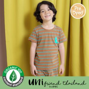 ชุดนอนเด็ก เสื้อผ้าเด็ก  21SS/Mini Brown5