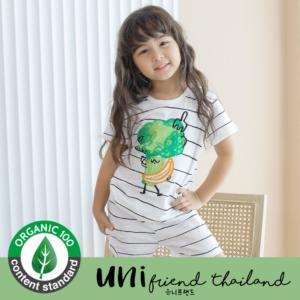 ชุดนอนเด็ก เสื้อผ้าเด็ก 21SS/Sweet Broccoli5