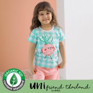 ชุดนอนเด็ก เสื้อผ้าเด็ก  21SS/Mint Beet5