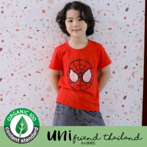 ชุดนอนเด็ก เสื้อผ้าเด็ก  21SS/Red Face5