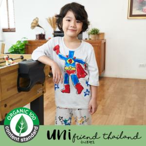 ชุดนอนเด็ก เสื้อผ้าเด็ก 21ss/ Superhero 7