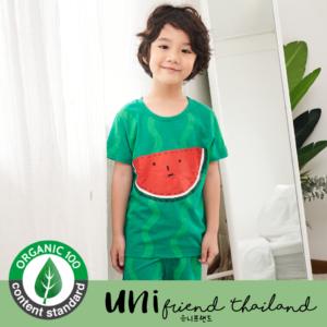 ชุดนอนเด็ก เสื้อผ้าเด็ก 21ss/ Cutie Water Melon 5