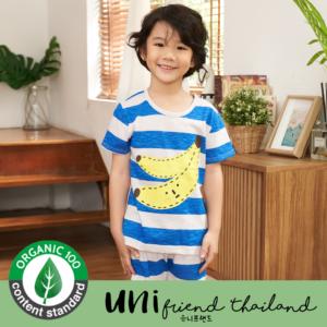 ชุดนอนเด็ก เสื้อผ้าเด็ก 21ss/ Cutie Banana 5