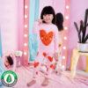 ชุดนอนเด็ก เสื้อผ้าเด็ก 21fw/Shy heart9