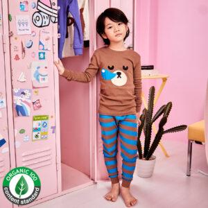 ชุดนอนเด็ก เสื้อผ้าเด็ก 21fw/Sleeping bear9
