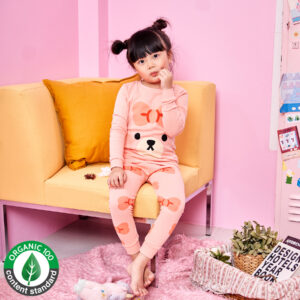 ชุดนอนเด็ก เสื้อผ้าเด็ก 21fw/Ribbon bear9