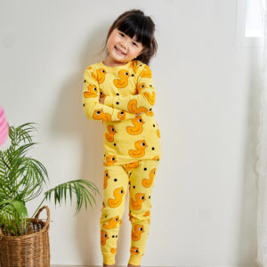 ชุดนอนเด็ก เสื้อผ้าเด็ก 21fw/Dot duck9