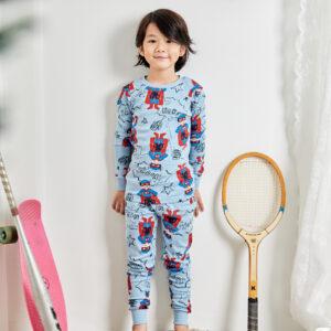 ชุดนอนเด็ก เสื้อผ้าเด็ก 21fw/Cartoon hero9