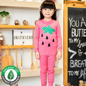 ชุดนอนเด็ก เสื้อผ้าเด็ก 21fw-Strawberry9
