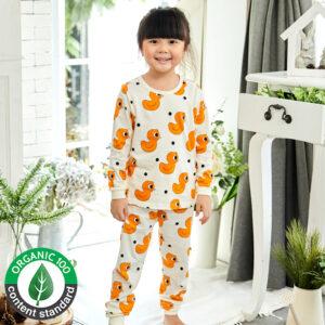 ชุดนอนเด็ก เสื้อผ้าเด็ก 21fw-CuteDuck9